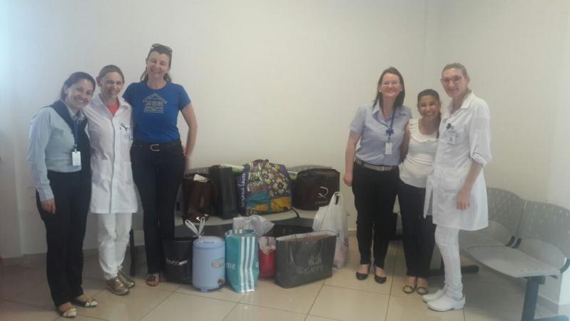 f9fa2ffecbd Hospital Regional recebe doações da Casa da Amizade para o bazar solidário